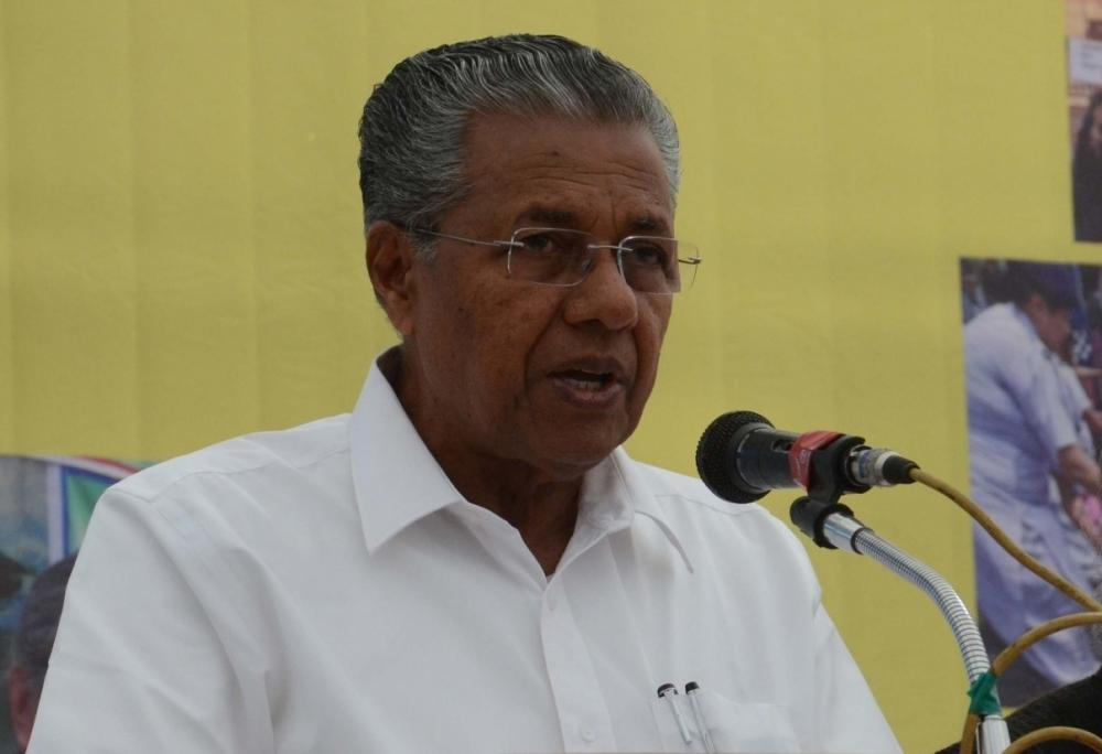 The Weekend Leader - Vijayan seeks all non-BJP CMs take up vaccine issue with PM