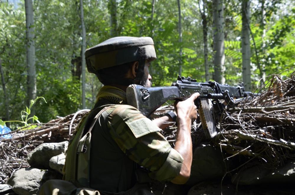 The Weekend Leader - 2 terrorists killed in Kashmir encounter