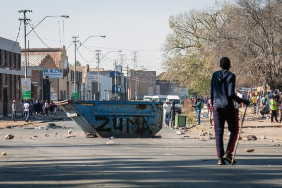 The Weekend Leader - S.African Parliament seeks to establish inquiry into unrest
