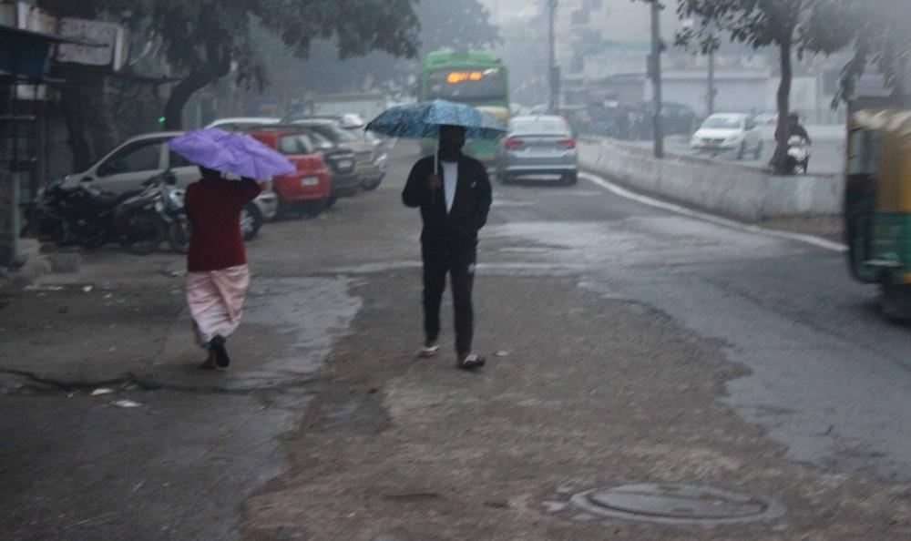 The Weekend Leader - Light drizzle in Delhi-NCR on Tuesday