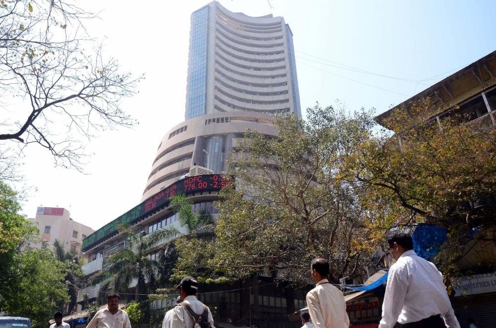 The Weekend Leader - Sensex tops 57,000 for the first time, Nifty nears 17,000