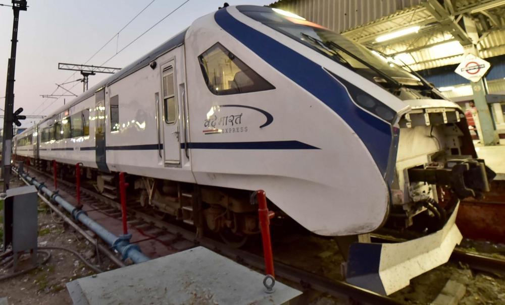 The Weekend Leader - Rlys to resume services of New Delhi-Katra Vande Bharat Express