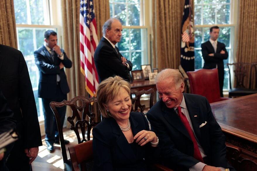 Hillary Clinton endorses Biden to challenge Trump