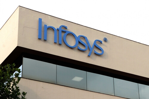 Infosys net down quarterly, up yearly