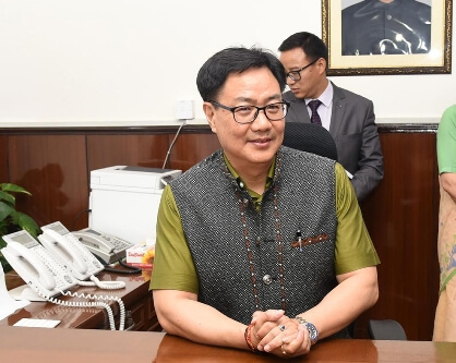 SAI's 21-day online workshop for coaches begins, Rijiju attends 1st session