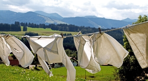 Laundry in times of COVID-19