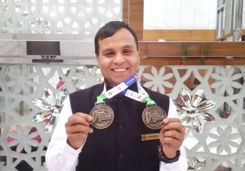 Ex-commando's medal funds Covid-19 fight; finds new home in Karnataka school