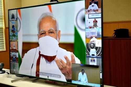 Modi to interact with CMs on April 27