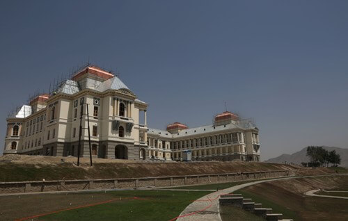Palace in Kabul turns into hospital for COVID-19 patients  ?