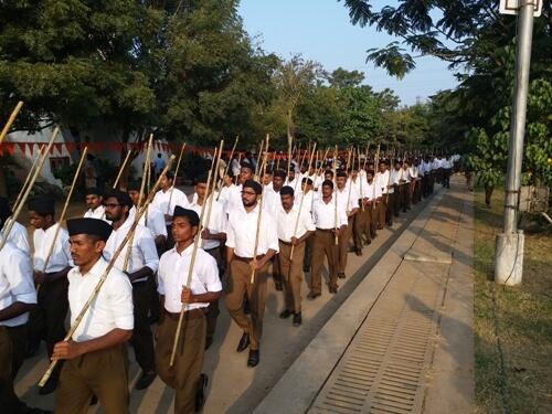 RSS begins 'Kutumb Shakhas' to beat lockdown blues  ?