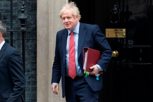 UK at moment of maximum risk from pandemic: Johnson