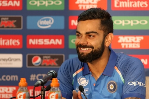 Have learnt to stay patient from Anushka, says Kohli