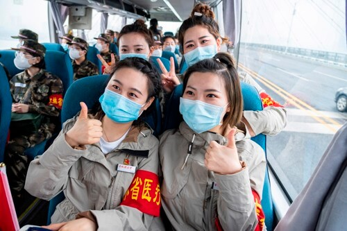 Wuhan sees 620,000 public transport users after lockdown lifted