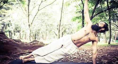 Yoga to tighten core