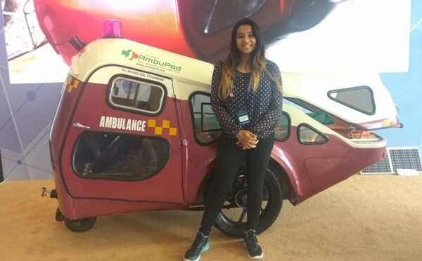 The Weekend Leader - Story of Yamini Lavanian, co-founder and Director, AmbuPod