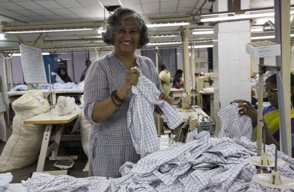 The Weekend Leader - Success story of Anjali Schiavina, Founder, of Mandala Apparels, Pondicherry