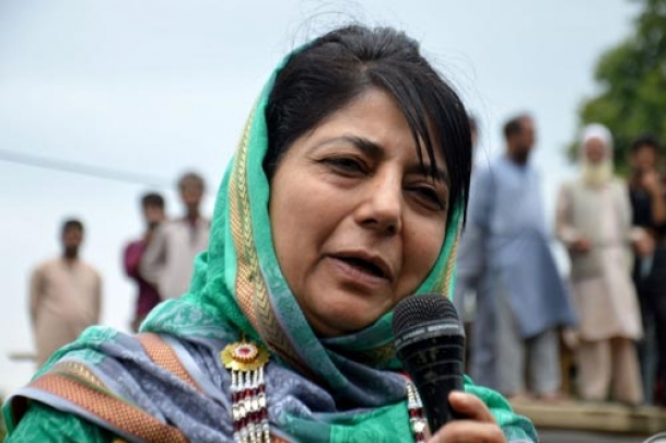 Mehbooba flies to Delhi as one more killed in Kashmir