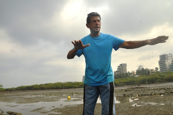 The Weekend Leader - Story of Rehan Merchant, the Mangroves Man of Mumbai who trying to create a Beach on Carter Road