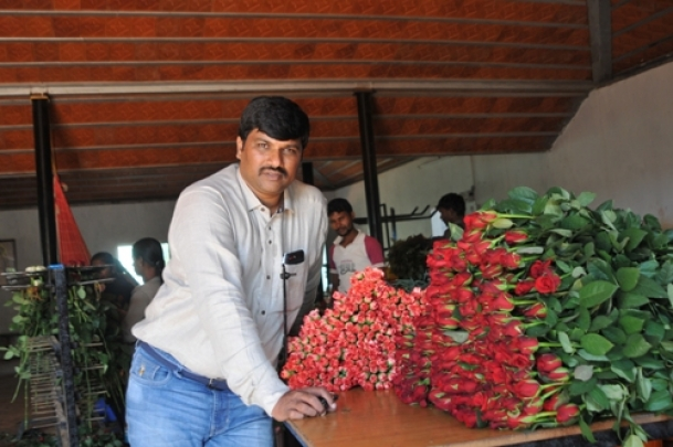 Former child worker in a flower farm is now a rich man