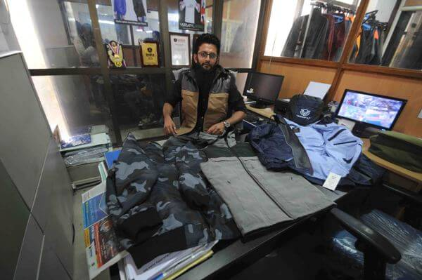 Jacket makes money for Saneen