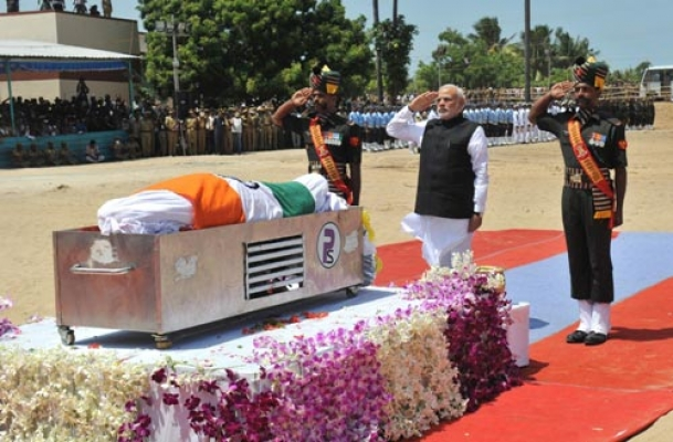 People's President, Missile Man Kalam laid to rest