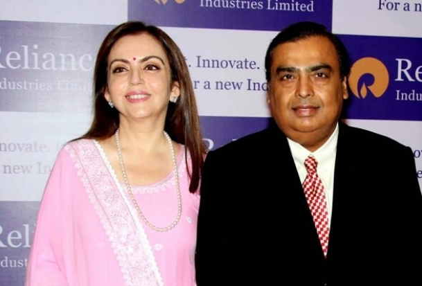 Mukesh Ambani is richest Indian with a net worth of $38 billion