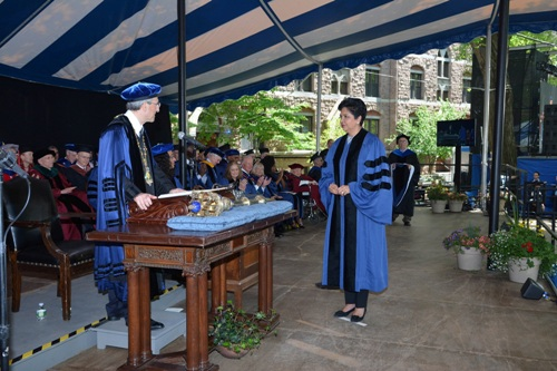 PepsiCo?s former CEO Indra K Nooyi presented with honorary doctorate at Yale University