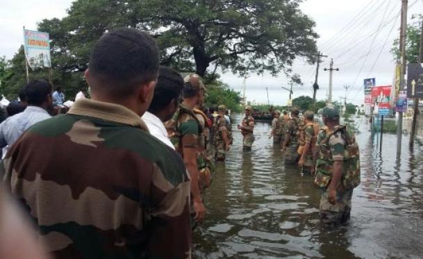 The Weekend Leader - Flood relief work in full swing in Tamil Nadu