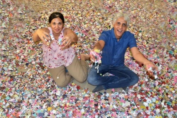 Making crores in paper flowers