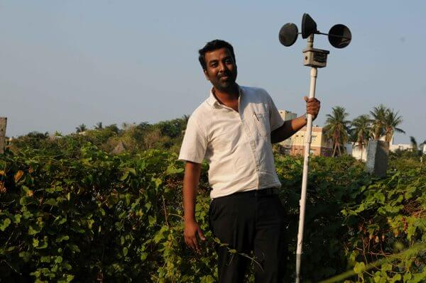 The man who loves rain, Chennai's neighborhood weatherman