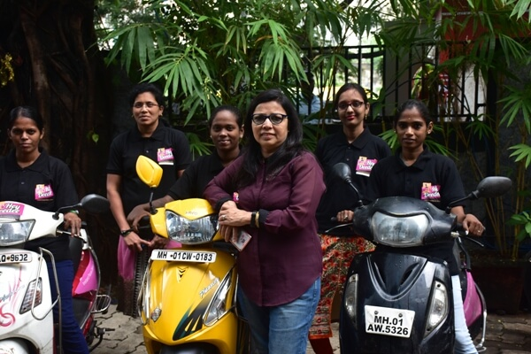 how a parcel delivery startup is helping underprivileged women