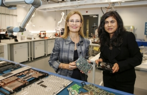 Microfactories for E-Waste