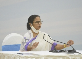No Durga Puja immersion carnival on Red Road this year: Mamata