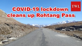 COVID-19 lockdown cleans up Rohtang Pass