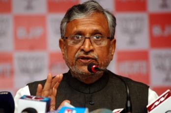 Lalu indulging in political manipulations from jail: Sushil Modi