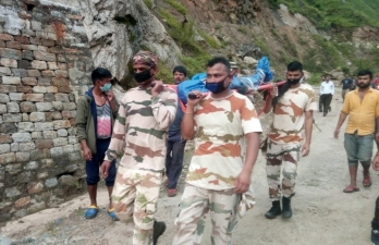 ?When 8 ITBP jawans walked for 8 hrs to hand over a dead body
