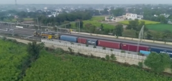 Railways operates 53 goods train on newly inducted EDFC