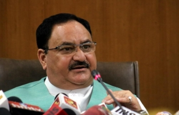 Congress slams Nadda over Chinese links
