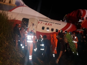 AI Express plane landed deep in touchdown zone, inclement weather blamed