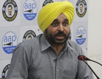 Punjab CM slams AAP's Bhagwant Mann on farm laws