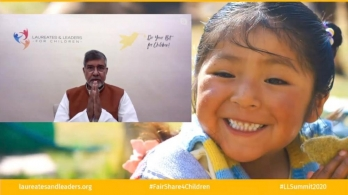 ?Satyarthi calls Covid a crisis of morality, demands accountability