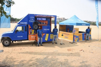 TECNO takes 'Moving Retail Shop' to rural India