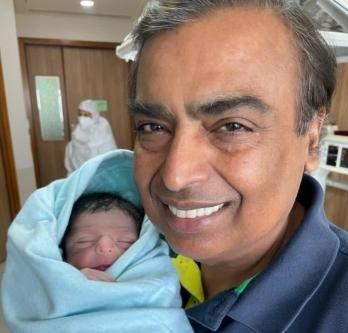 Akash Ambani, Shloka become proud parents of a baby boy