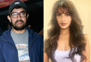 Rhea called Aamir Khan once, superstar SMSed thrice