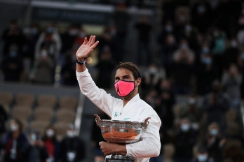 ?Federer congratulates Nadal after his record 20th Grand Slam title
