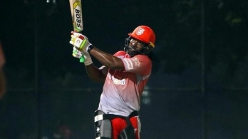?IPL: Gayle back in training, recovers for stomach bug