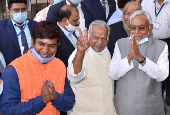 Nitish, 13 Ministers to take oath on Monday