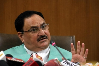 Nadda takes dig at 'parties run from homes' while addressing Odisha cadres