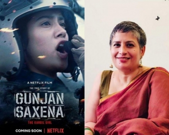 ?'Gunjan Saxena' portrays armed forces in bad light: Woman Navy officer
