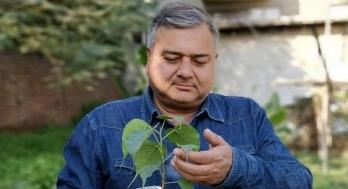 ?Indian environmentalist advocates a greenery revolution